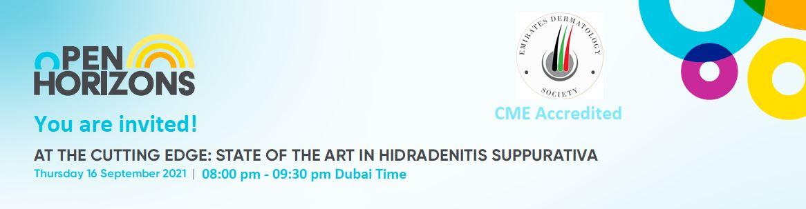 Open Horizons Invitation - Hidradenitis Suppurativa | Registration deadline 15th September